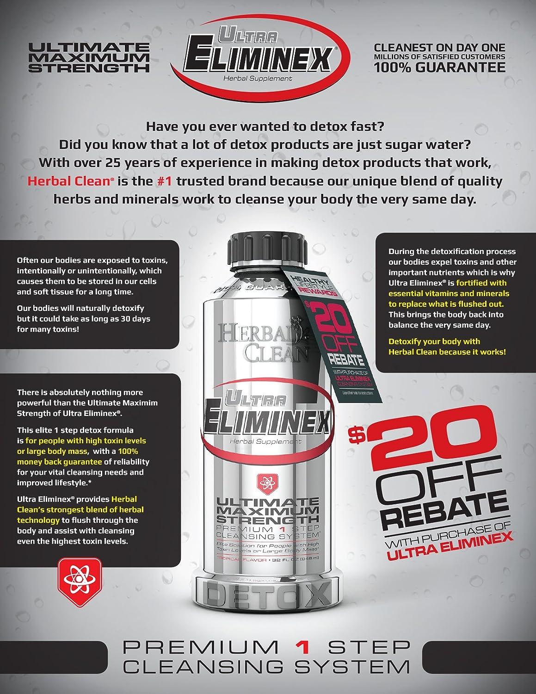 Amazon Ultra Eliminex Free 100 Qpretox Concentrated Detox