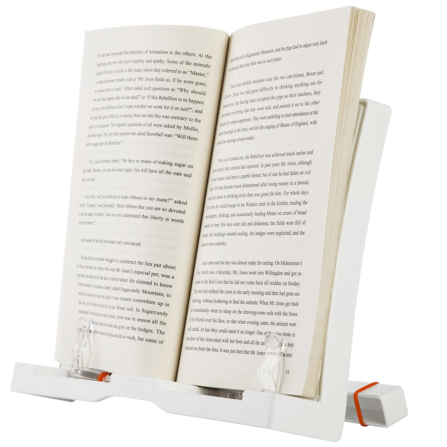 readaeer 180 angle adjustable reading cook book