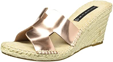 e4ead7527a76 Amazon.com  STEVEN by Steve Madden Women s Eryk Wedge Sandal  Shoes