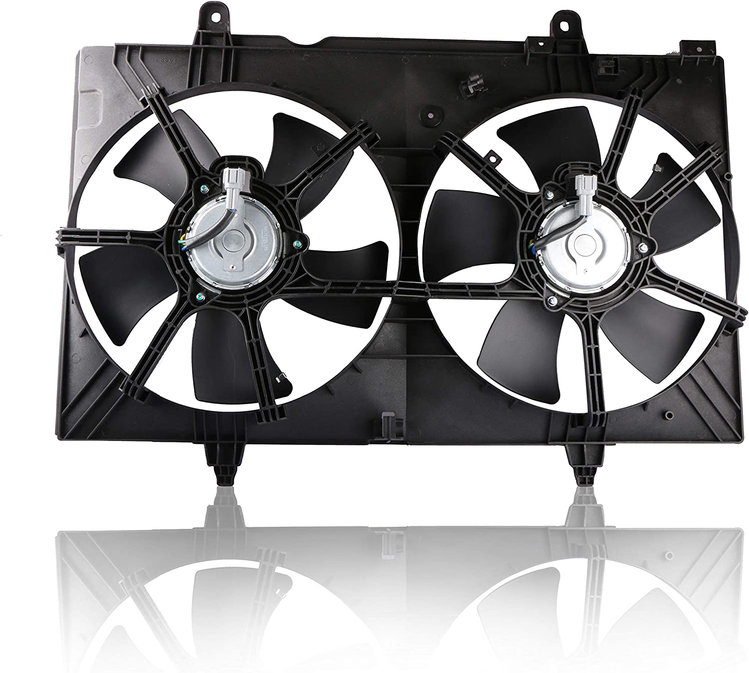 MOSTPLUS Dual Radiator Cooling Fan Assembly For 03-06 Nissan 350Z 03-07 Infiniti G35 3.5L