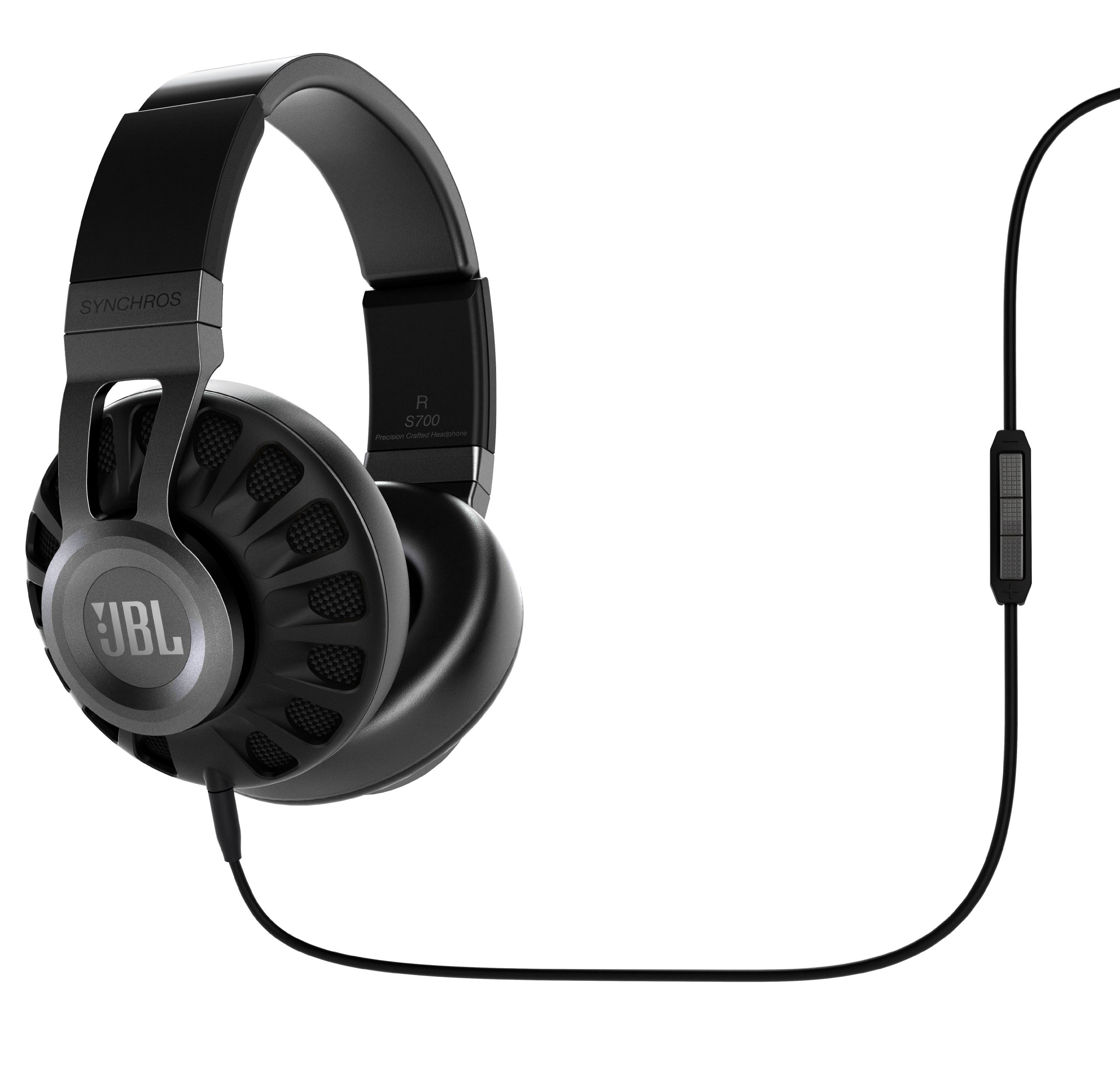 JBL Synchros S700 Premium Powered Over-Ear Stereo Headphones, Black by JBL