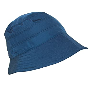 dba01e2688f Scala Classico Women's Nylon Waterproof 3 Inch Brim Lined Rain Hat, Navy