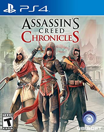 Amazon Com Assassin S Creed Chronicles Playstation 4 Standard