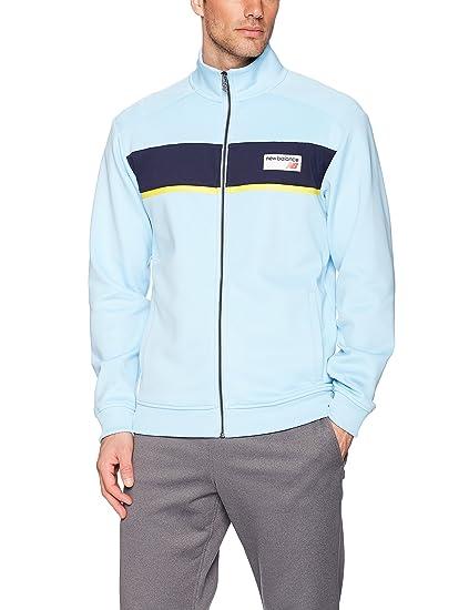 5846139f3a050 Amazon.com: New Balance Men's Nb Athletics Track Jacket: Clothing