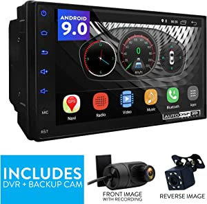 "UGAR EX9 7"" Android 9.0 DSP Universal Car Stereo 2GB 16GB Head Unit Double Din Touch Screen Radio Auto Car Audio Indash GPS Navigation with Bluetooth WiFi Mirroring …"