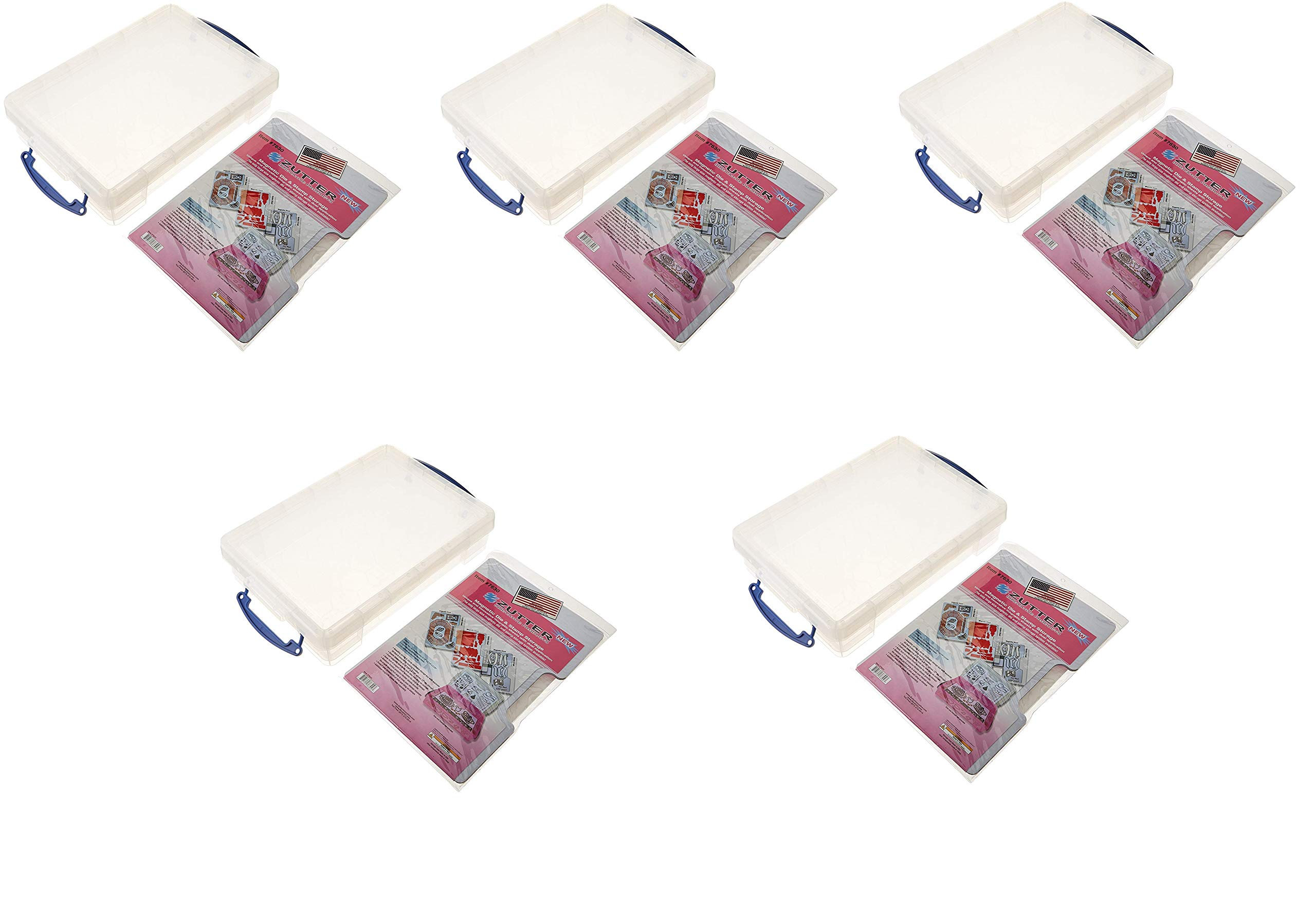 Zutter Magnetic Die & Stamp Storage Box kit (5-Pack)