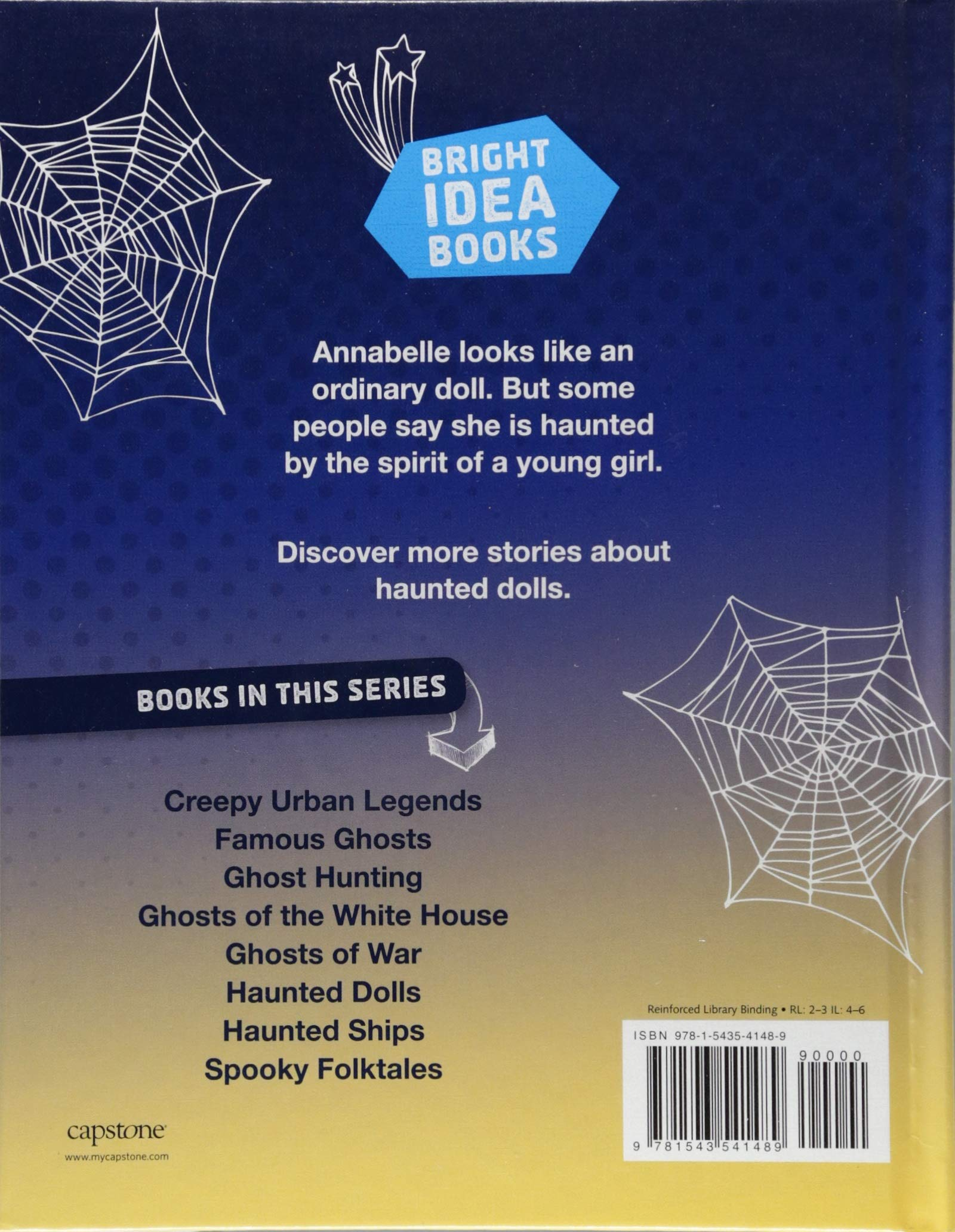 Amazon com: Haunted Dolls (Ghosts and Hauntings) (9781543541489