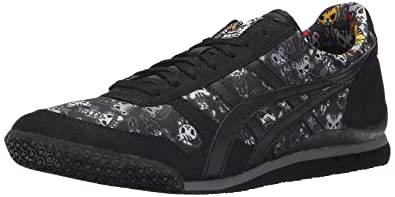 Onitsuka Tiger Men s Synthetic and Mesh Ultimate 81 Classic Sneakers ... 07f9df63063