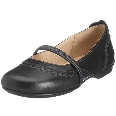wholesale dealer 2cb31 bd57b camel active Women's Ballerina 6770667 Black Black Size: 8 ...