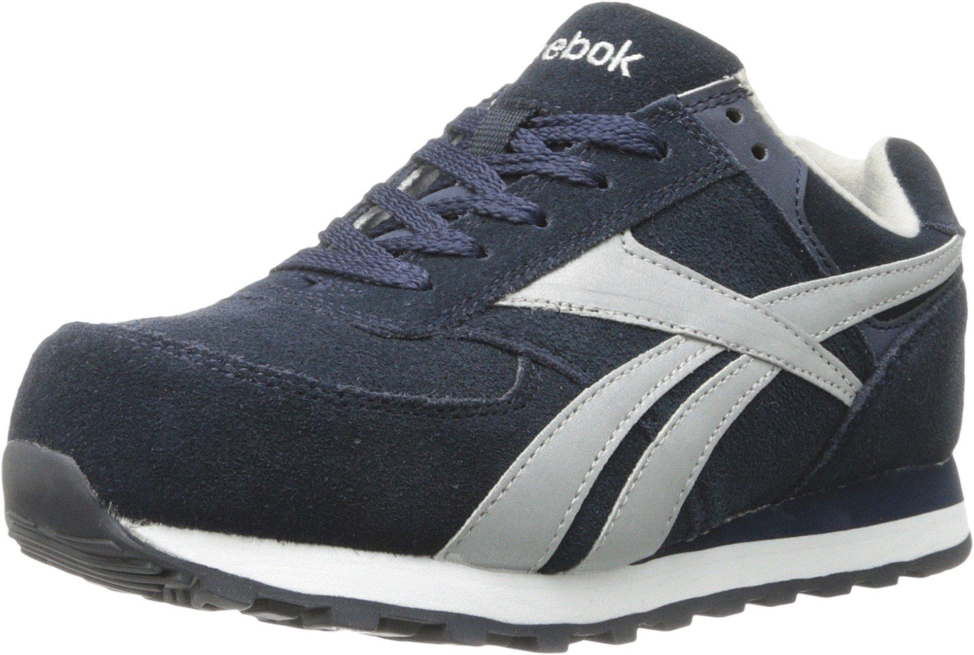 Reebok Work Women's Leelap RB195 Work Shoe,Blue Oxford,7 M US