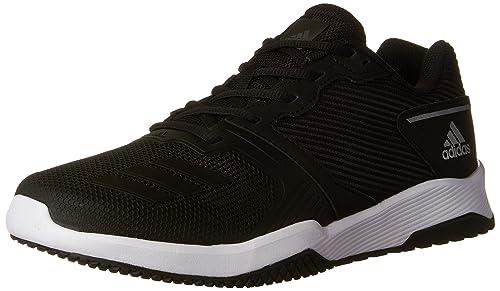 info for ece5d d8aa1 adidas - Gym Warrior 2 Uomo, Nero (Black Black White),