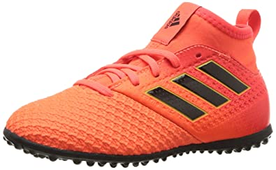 7640a0c17 adidas Boys  ACE Tango 17.3 TF J Soccer Shoe RED Black Solar Orange