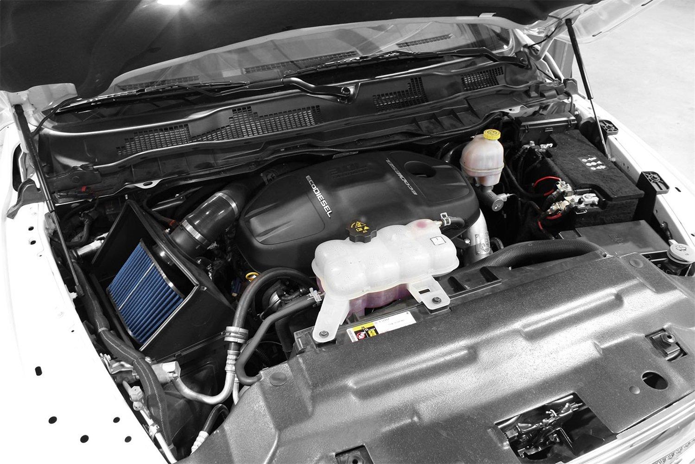 aFe Power Magnum FORCE 54-32572 RAM 1500 EcoDiesel 14-15 V6-3.0L Performance Intake System Oiled, 5-Layer Filter td