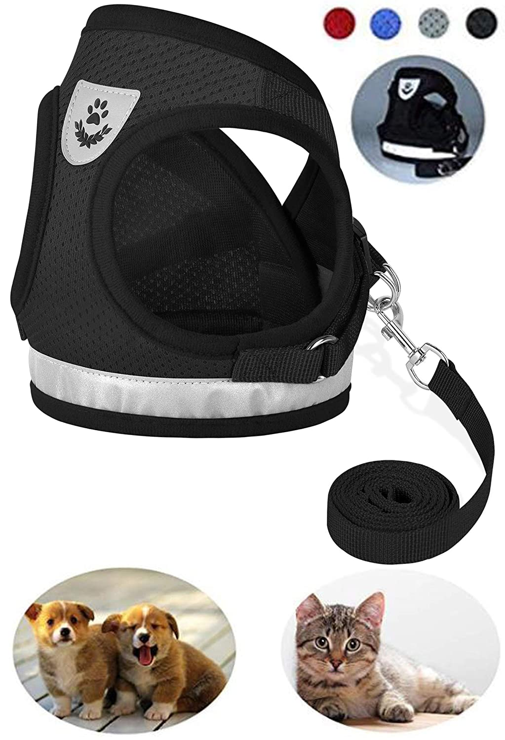 9. Gauterf Dog/Cat Universal Harness