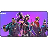 """Funky Store Fortnite Battle Royale Game Large Extended Gaming Mouse Pad Mat, Stitched Edges, Ultra Thick 3 mm, Wide & Long Mousepad 31.5"""" x 11.8"""" x 0.12"""" (FR-MP-6)"""