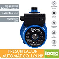 Igoto Pump PAC16 Presurizador Automático 1/6 HP