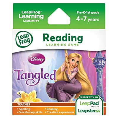 LeapFrog Disney: Tangled Learning Game (for LeapPad Tablets and LeapsterGS): Toys & Games