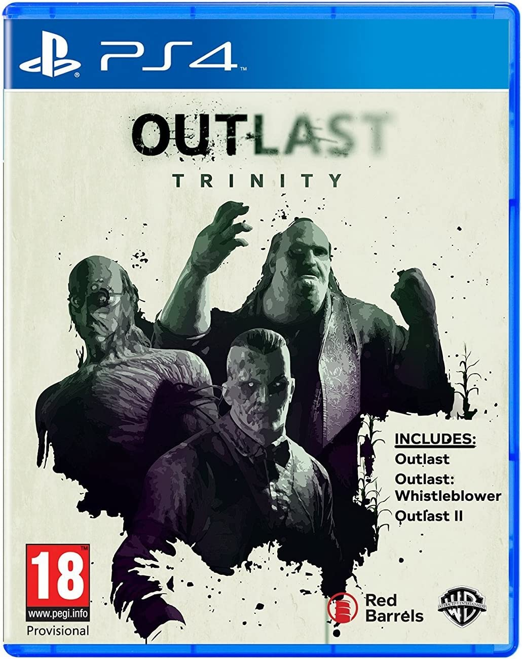 Outlast Trinity : Playstation 4 , ML: Amazon.es: Videojuegos
