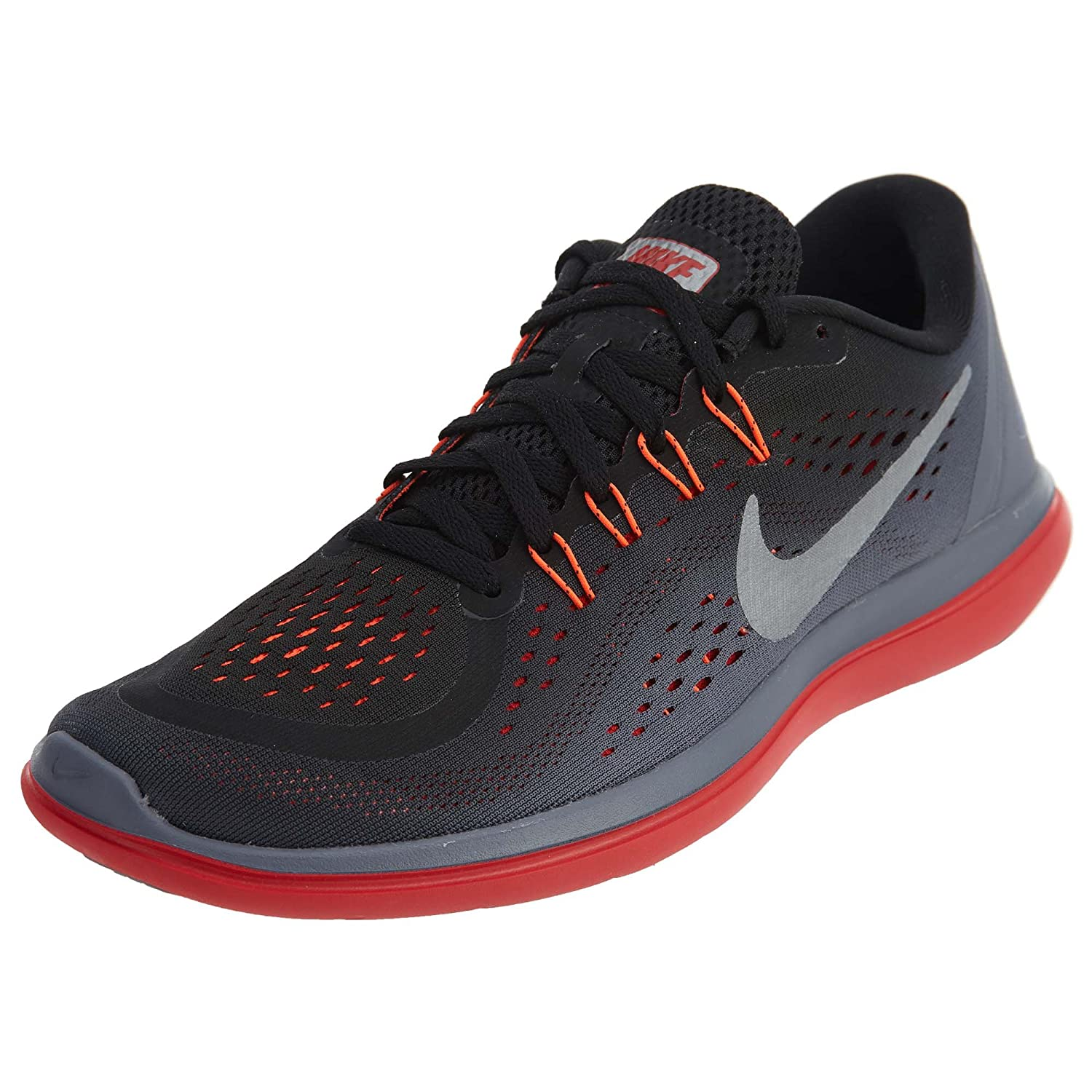 d844dd962bb6c Nike Men s Flex RN 2017 Running Shoe Black Metallic Cool Grey Light Carbon  Size 9. 5 M US  Buy Online at Low Prices in India - Amazon.in