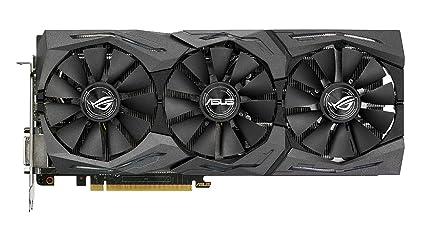 Asus STRIX-RX480-O8G-GAMING - Tarjeta gráfica (Strix, 8 GB, AMD Radeon RX 480, GDDR5, PCI Express 3.0, 8000 MHz, resolución de 7680 x 4320)