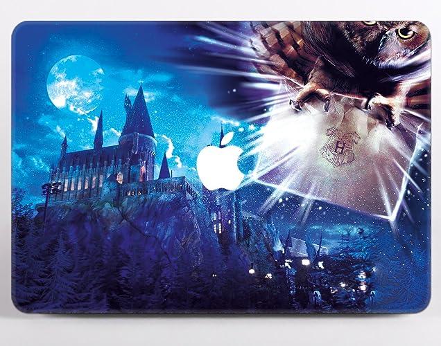 Harry Potter Hedwig Owl Post Stamp Hogwarts Letter Of Acceptance Macbook Air 13 Case Hard