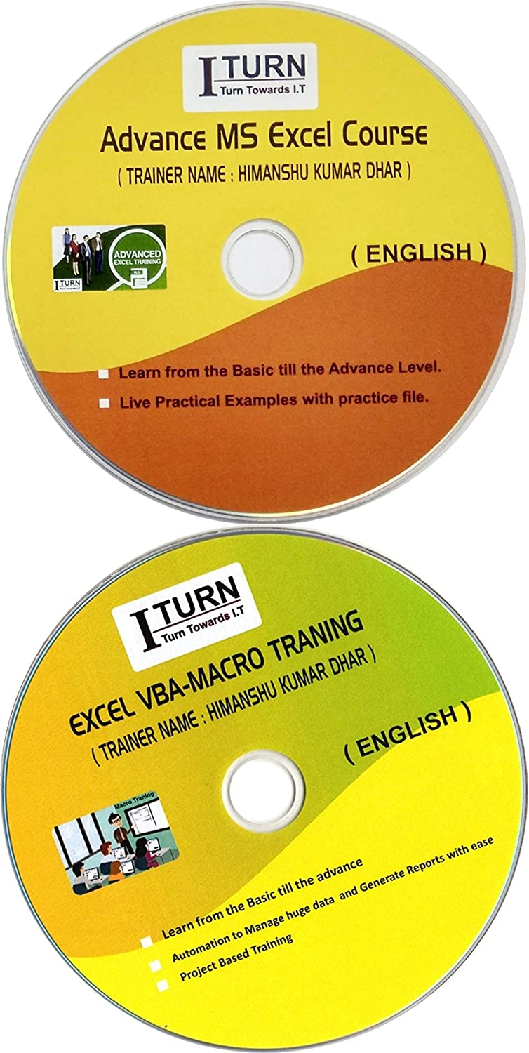 Complete Excel DVD Tutorial with Macro