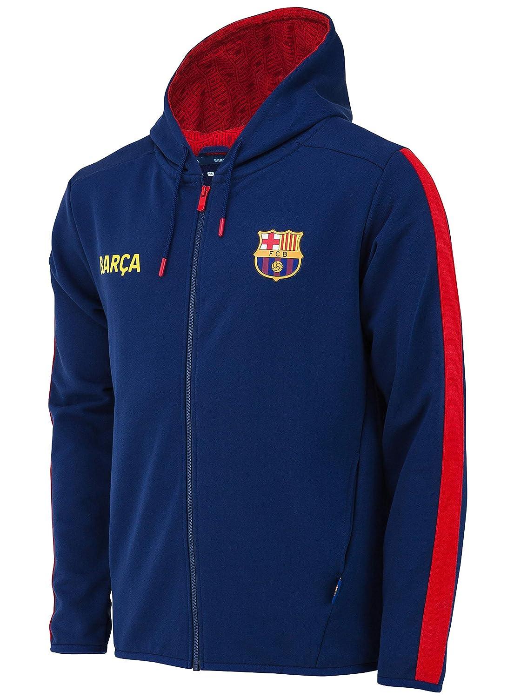 Fc Barcelone Veste Sweat Capuche Barca Collection Officielle Taille Enfant