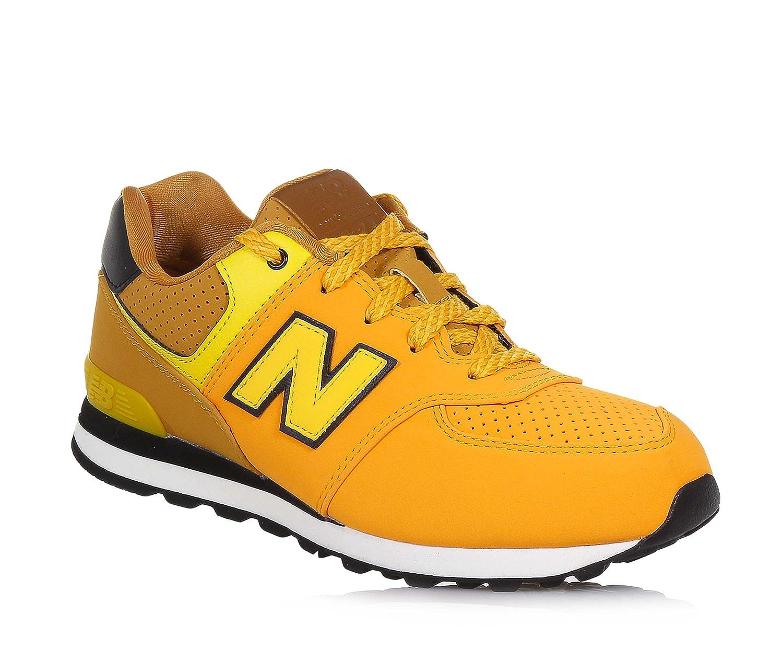 New Balance KV574YTY, Zapatillas infantil 37 EU YO - Yellow / Orange