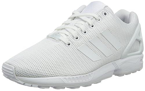 new arrival 4e3d3 df4ab Adidas Zx Flux, Scarpe da Corsa Unisex Adulto, Bianco (Ftwr White Clear