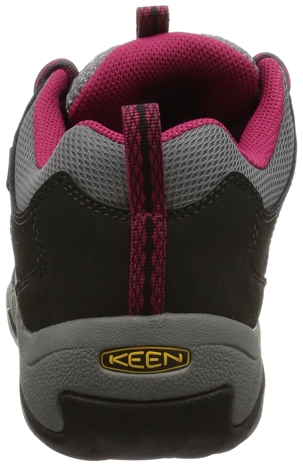 KEEN Women's Oakridge Waterproof Shoe, Magnet/Rose, 9 M US by KEEN (Image #2)