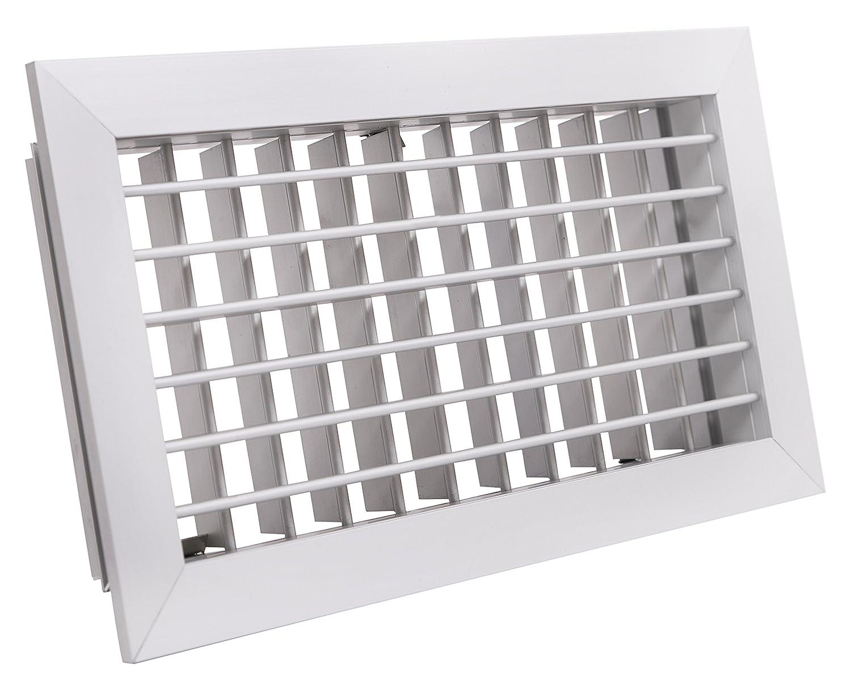 600 x 200 mm Aluminio Tradair 0111HVSF6020 Rejilla