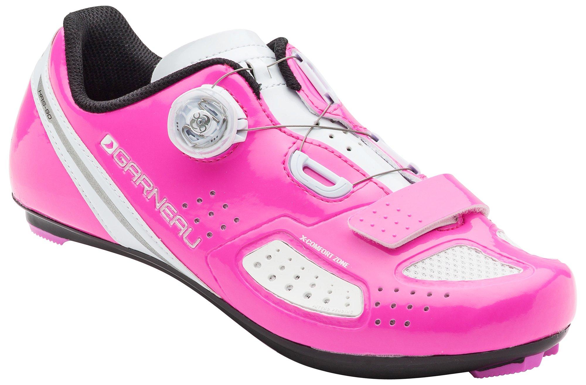 Louis Garneau Women's Ruby 2 Bike Shoes, Pink Glow, 38