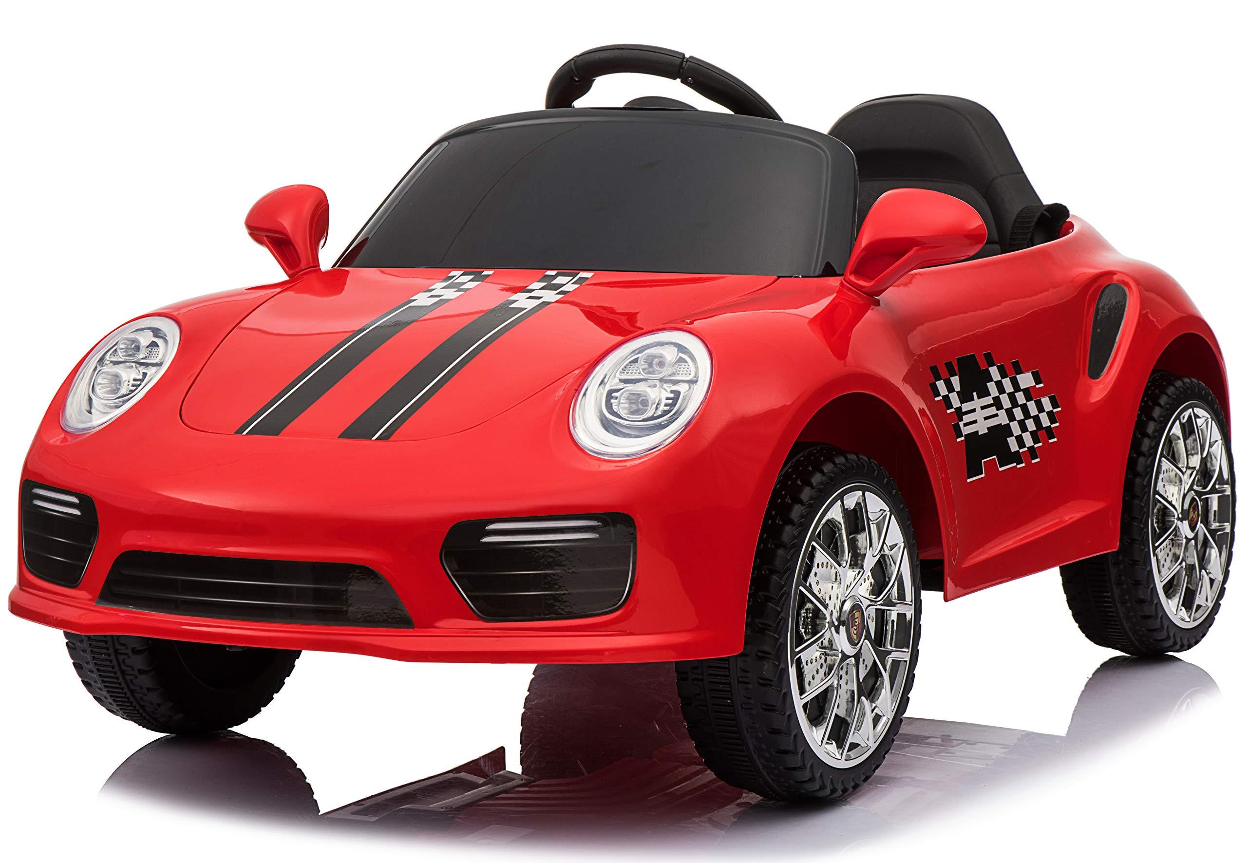 Coche Juguete Electrico Para Ninos Paseo Carro Suv Mp3 Music Remoto