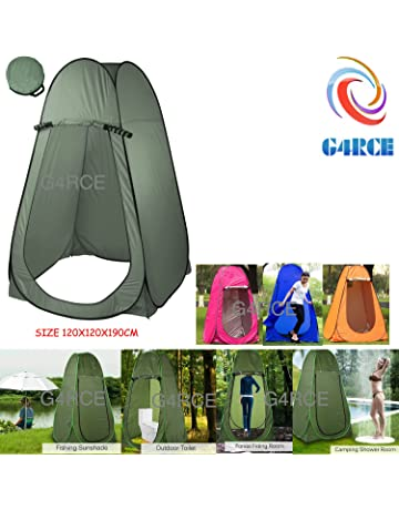 f98d3e83d00 G4RCE® Portable Instant POP Up Tent Camping Toilet Shower Changing Single  Room Privacy Travel Tent