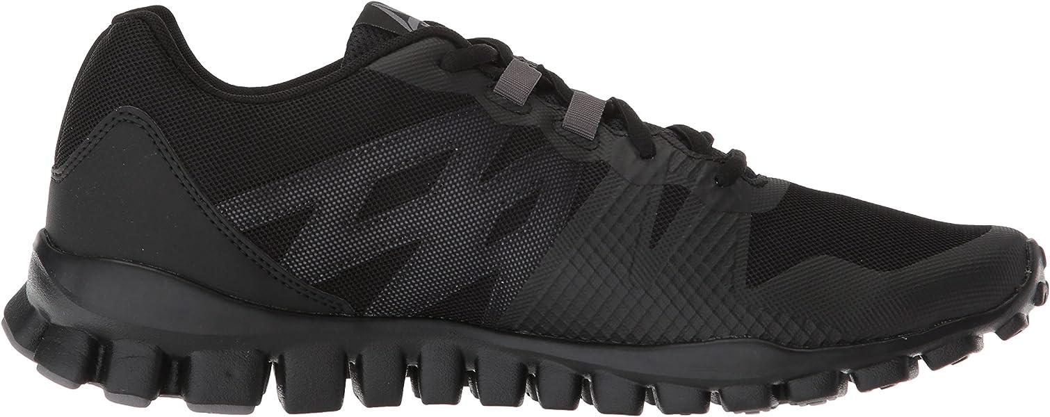 Reebok RealFlex Train 5.0 Men/'s Training//Walking Shoes Black//Shark CN2809 L