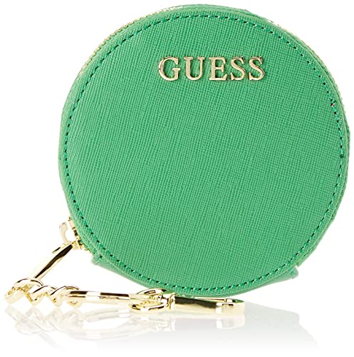 Guess - Did I Say 90?, Monederos Mujer, Verde (Green), 10.5 ...
