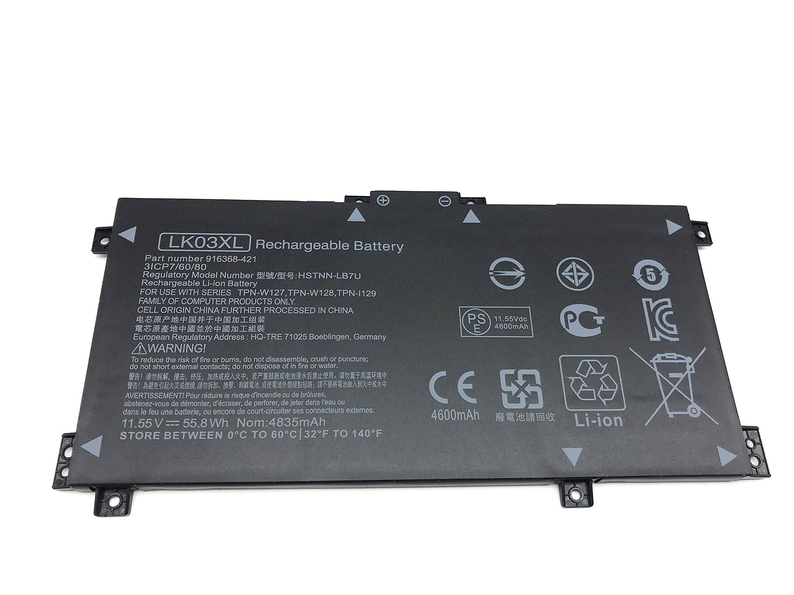 Bateria LK03XL HP Envy 17M Series HSTNN-LB7U 916368-421 9163