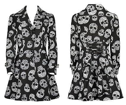 532263d3b68 Amazon.com  DangerousFX 8-28 Plus Size Gothic Skull Victorian Corset ...