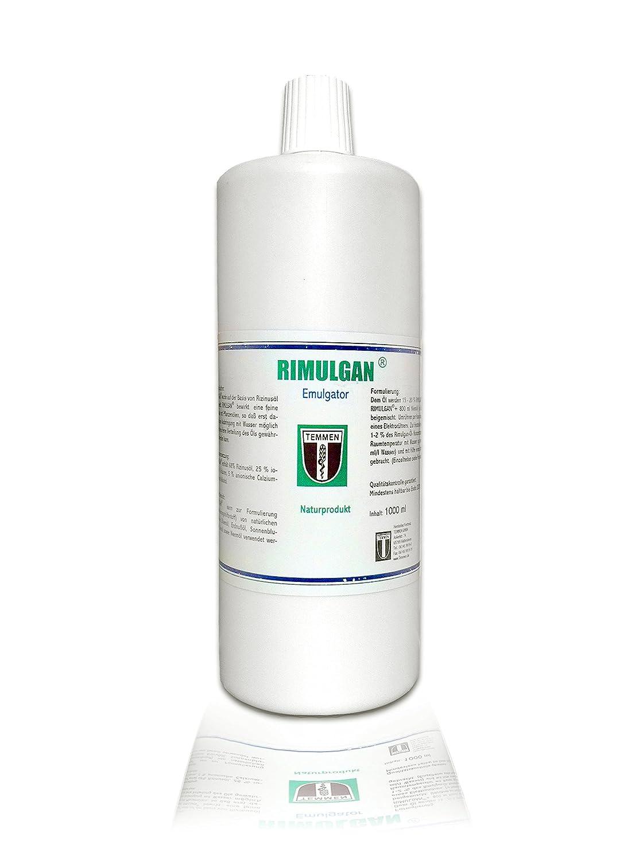 temmen rimulgan® - 1000 ml/1L - La Emulsionante para neemöl: Amazon.es: Hogar