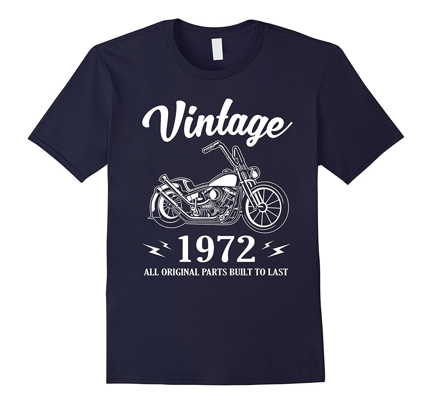 Vintage Classic Rider 1972 T-Shirt 45th Birthday Gift Shirt-FL