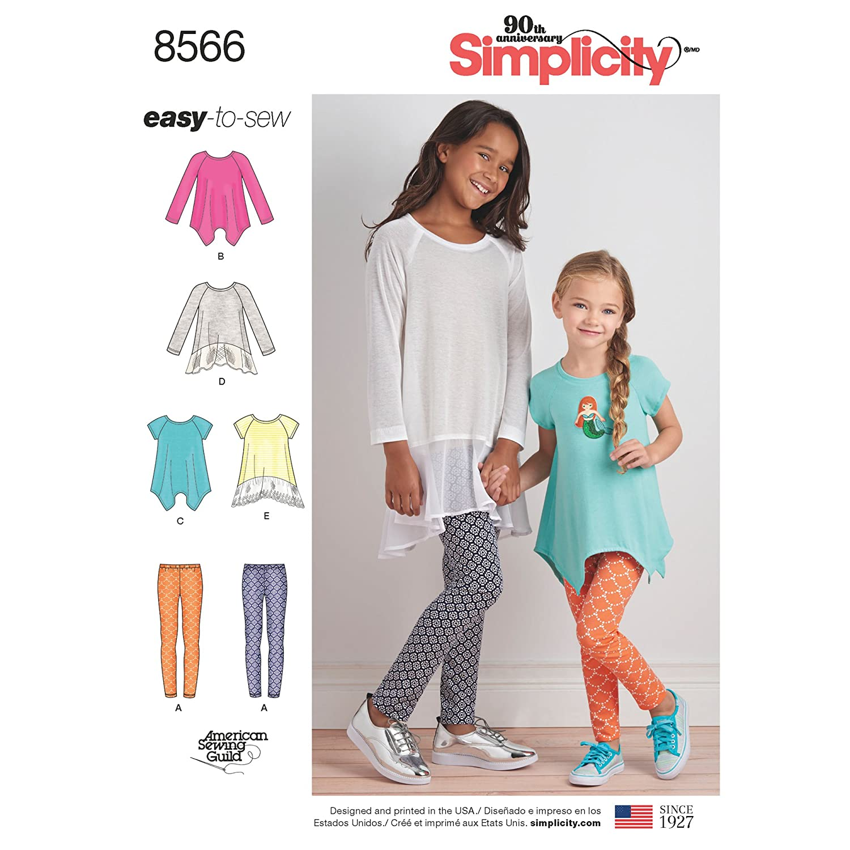 3-4-5-6 Simplicity Creative Patterns US8566HH Children HH