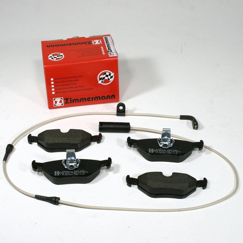 Zimmermann Bremsklö tze/Bremsen / Bremsbelä ge + Warnkabel fü r hinten/fü r die Hinterachse Autoparts-Online