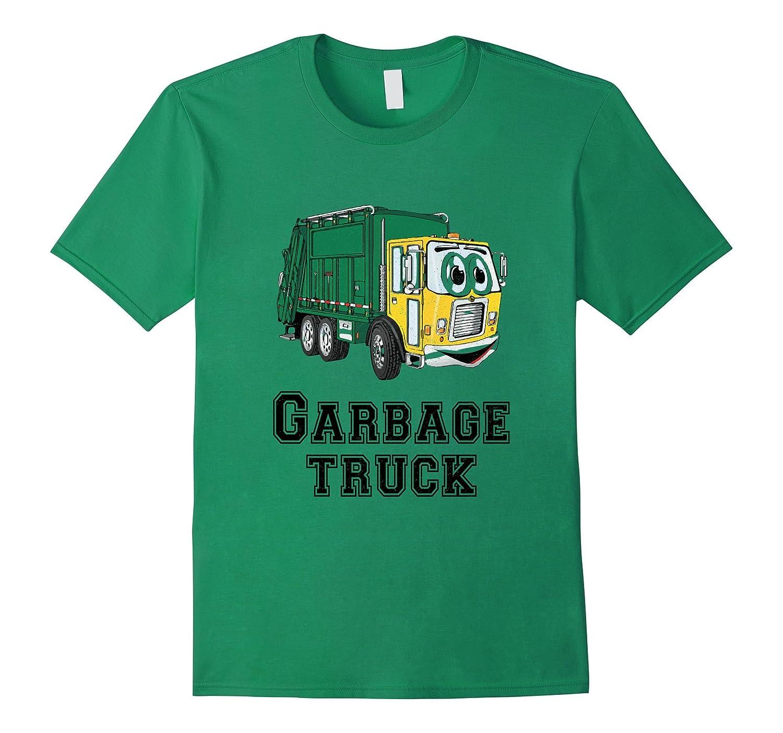 Kids City Trash Truck - Garbage Truck TShirt-CD