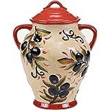 "Certified International Umbria Biscotti Jar, 10.75"", Multicolor"
