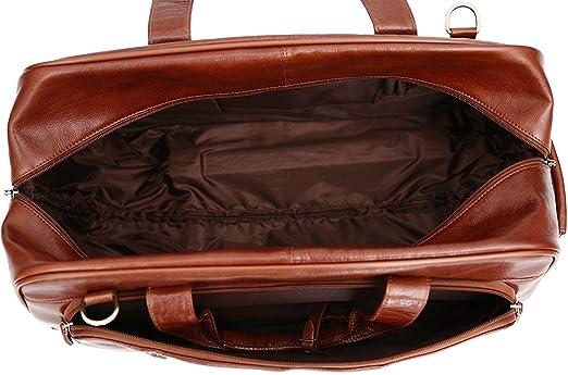 S Babila - Sac de voyage à roulettes style fourre-tout - cuir pleine fleur - taille cabine - Cognac P6iu8IL