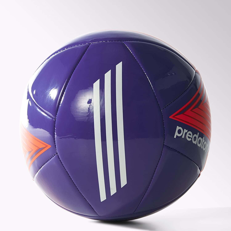 administración arma limpiar  Amazon.com : adidas Predator Glider Soccer Ball (unisex-adult) Night Flash  Purple/Solar Red/Semi Flash Red Size 5 : Sports & Outdoors