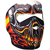 "Cagoule Masque Protection Neoprene ""Hell Skull"" - Taille unique réglable - Airsoft - Paintball - Outdoor - Ski - Snow - Surf - Moto - Biker - Quad"