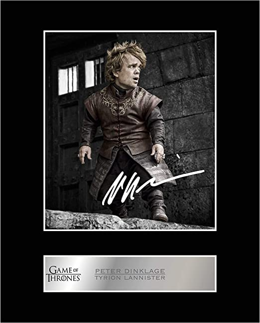 Framed Game of Thrones Cast Autographed Signed Reprint 8.5x11 Script Framed Unique Gifts Ideas Him Her Best Friends Birthday Christmas Xmas Valentines Anniversary Fathers Mothers Day