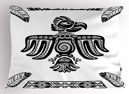 Almohada Eagle Sham por Lunarable, diseño de arte del tatuaje ...
