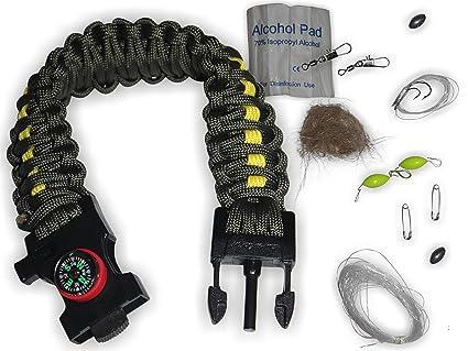 amazon com holtzman s gorilla survival 550 paracord survival kit